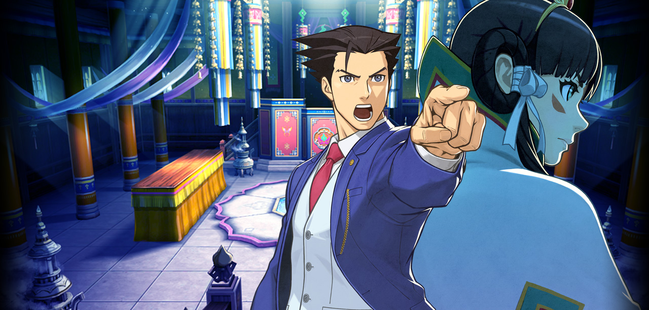 Take a look at Ace Attorney 6's anime prologue subtitled in English