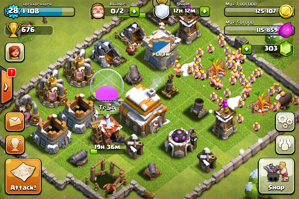 Clash of Clans Android,iPhone,iPad, screenshot 5