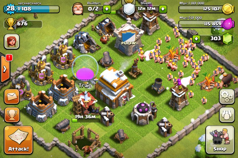 Clans can finally clash in Clash of Clans's huge Clan Wars update
