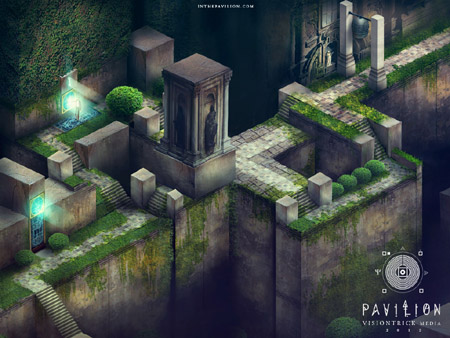 Visiontrick Media's visually arresting puzzler Pavilion is now heading to Vita