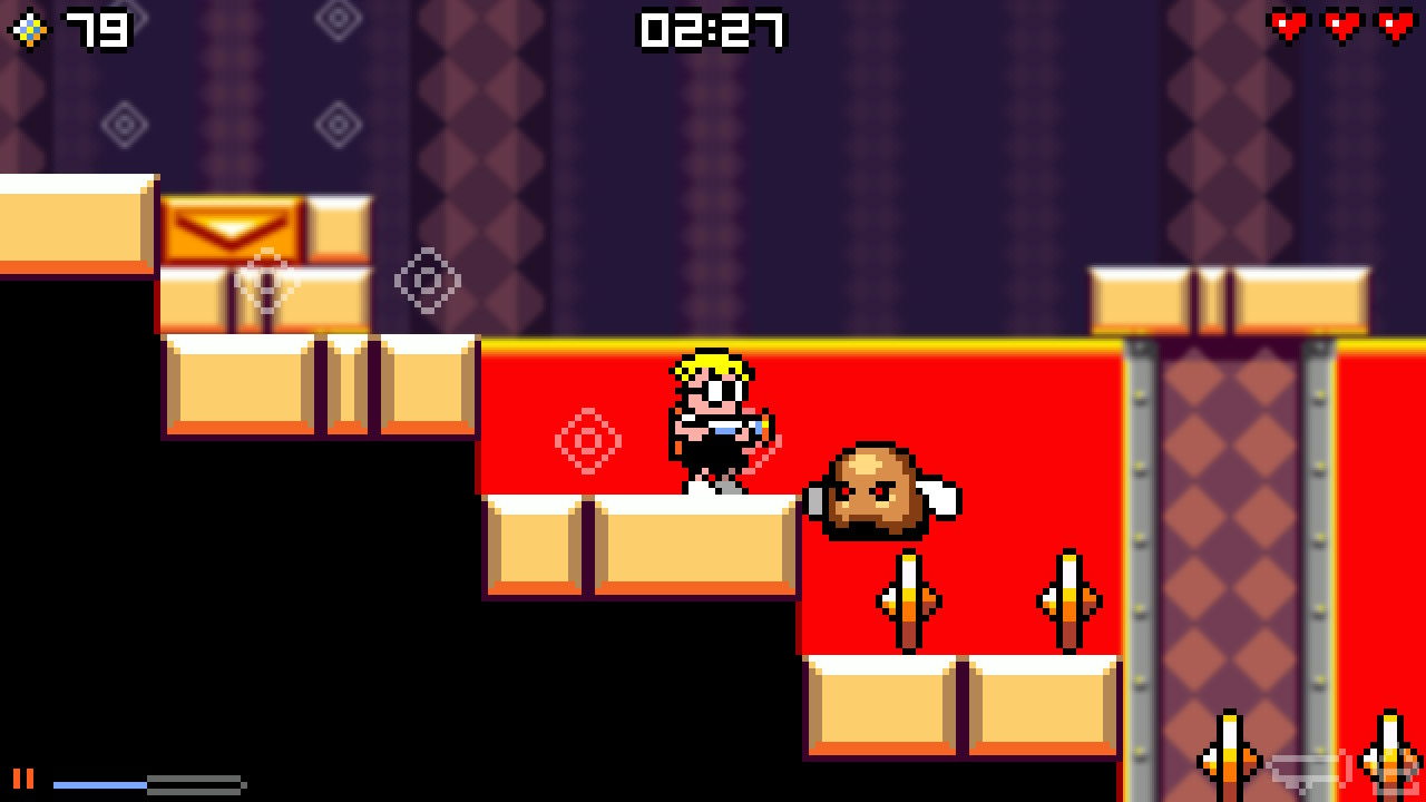 Mutant Mudds Collection review - Two tough Switch platformers in one