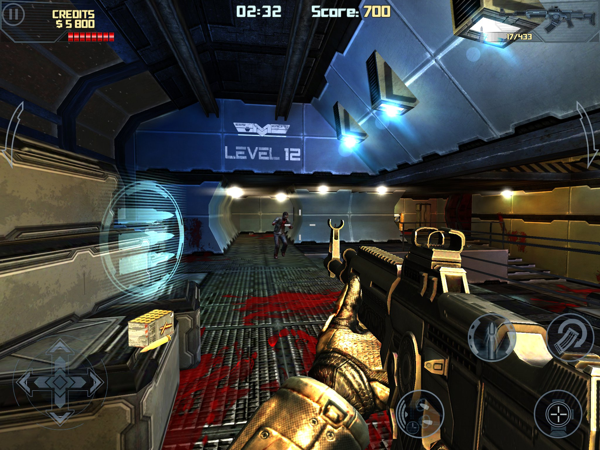 Deep space iOS undead blaster Dead Effect on sale at 69p/99c