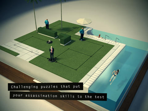 [Update] Out now: Hitman GO lets you shuffle round vignettes and knock people off on iPad and iPhone