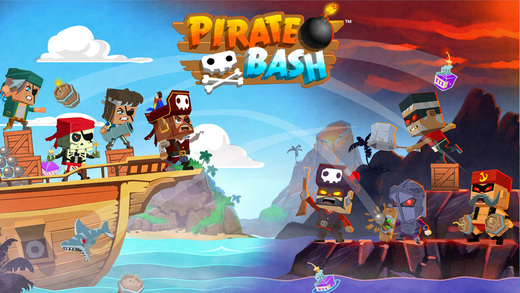 Pirate Bash is like Angry Birds except these baddies fire back, out on iOS and Android