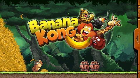 You can now download Donkey Kong Country-esque endless-runner Banana Kong for absolutely nothing