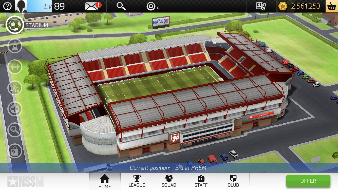 Test de New Star Soccer Manager