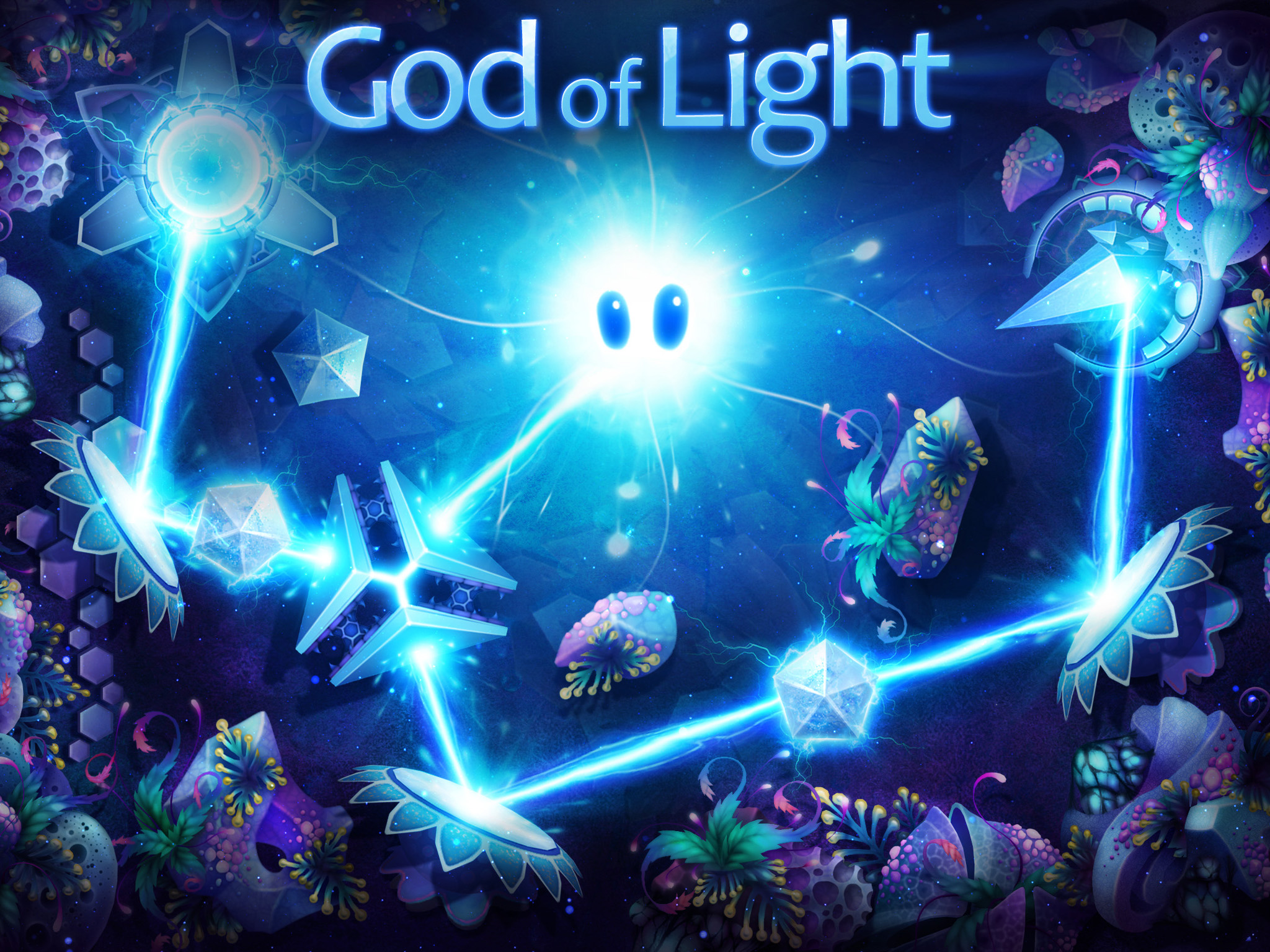 You'll help Shiny bounce light beams to save the world in upcoming puzzler God of Light