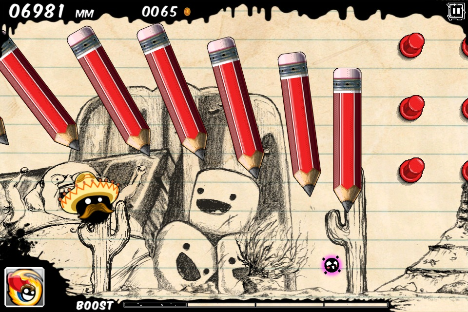 Majestic Software inks in late-January release date for gorgeous-looking hand-drawn side-scroller Blot on iOS