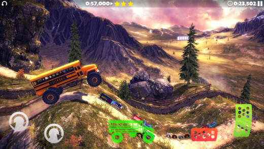 Out at midnight: Offroad Legends 2 lets your throw huge trucks at dirt tracks for fun
