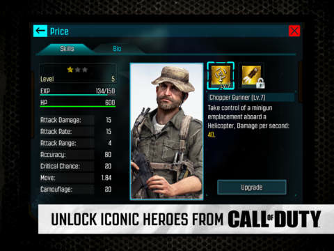 Hands-on with Call of Duty: Heroes
