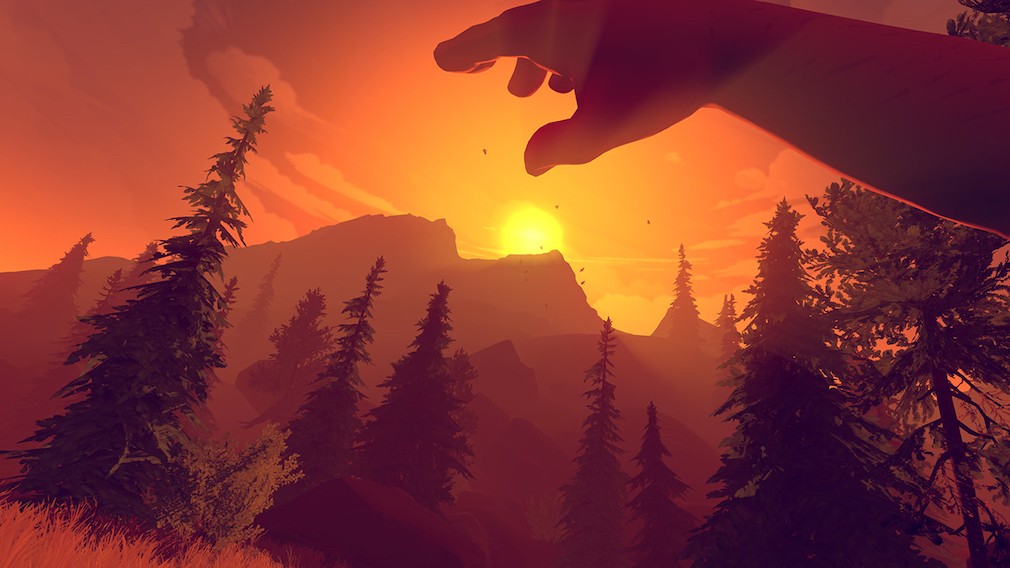 The beautiful first-person mystery Firewatch is out now on Switch