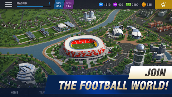 Manage your ultimate team in football management sim 11x11: New Season, out now on iOS and Android