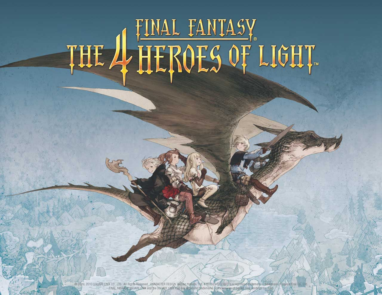 Final Fantasy: 4 Heroes of Light cover art, pre-order incentives revealed