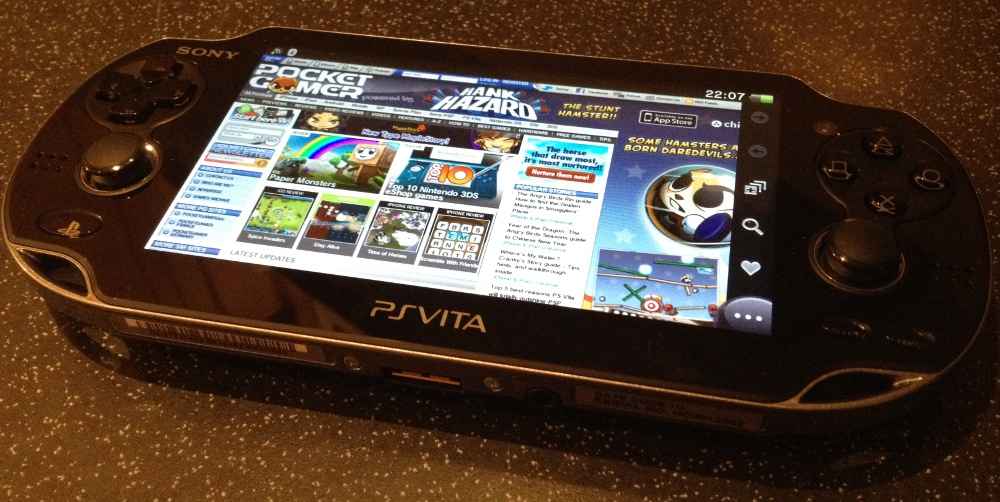 How to set up wi-fi on the PS Vita