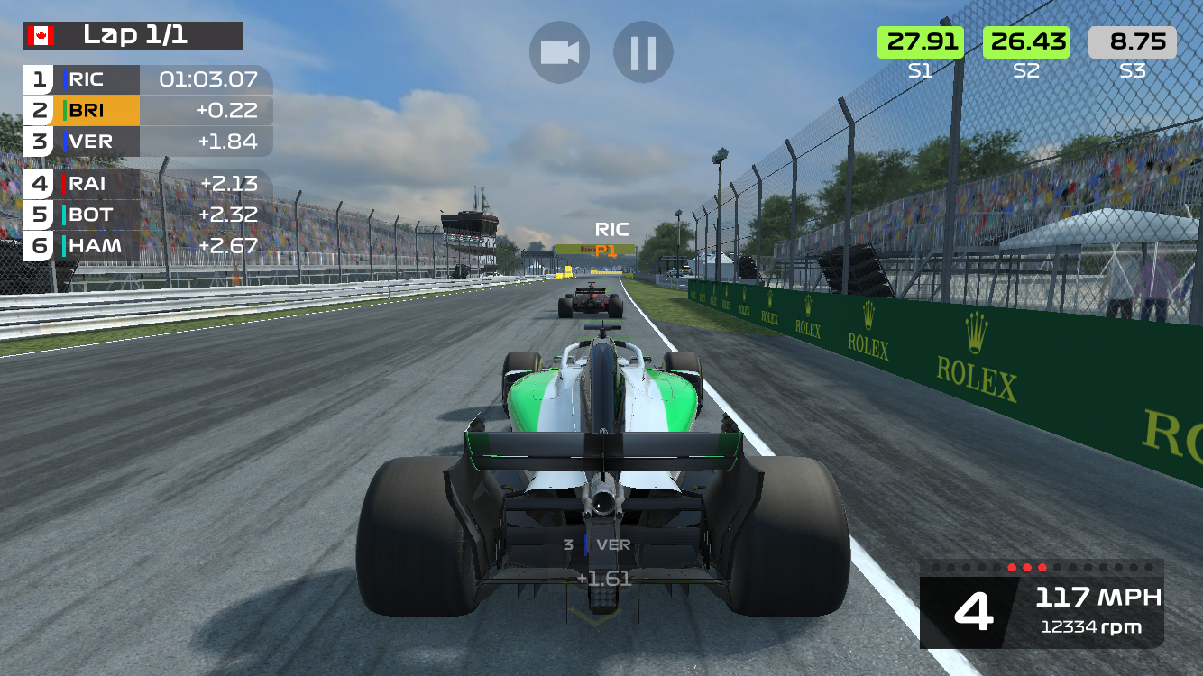 "F1 Mobile Racing review - ""A mix of mobile and AAA racing that just about manages to work"""