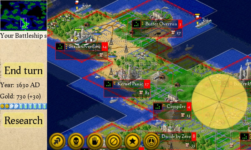 You can now play Civilization-inspired strategy title Freeciv on your smartphone or tablet