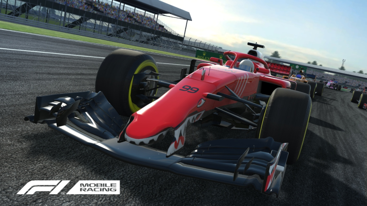 F1 Mobile Racing races onto the App Store today