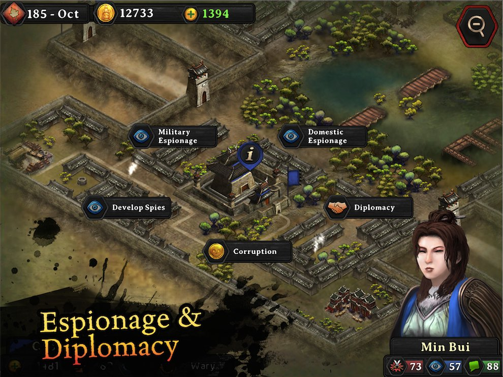 [Update] Autumn Dynasty Warlords is getting a huge free update tomorrow on iPhone and iPad