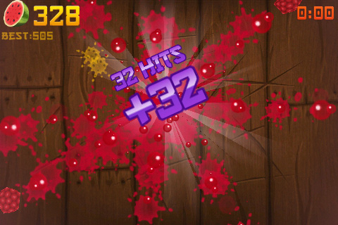 Halfbrick's Fruit Ninja for iOS gets bullet-time Pomegranate in update