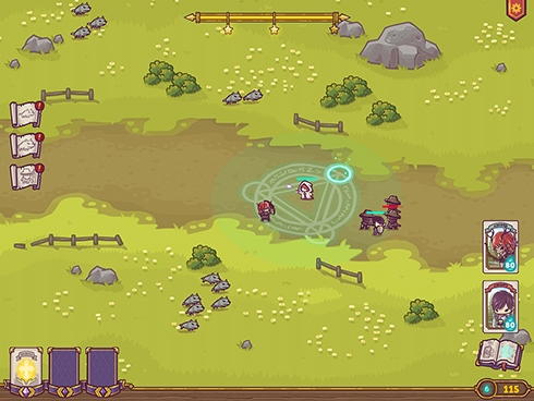 Out at midnight: Tiny Guardians looks cute but doesn't hold back on challenging tactical play