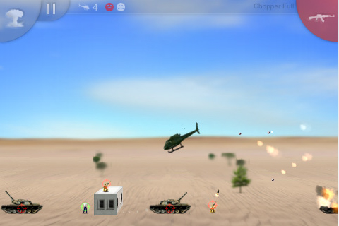 Chopper Iphone Game Hits The App Store Articles Pocket Gamer