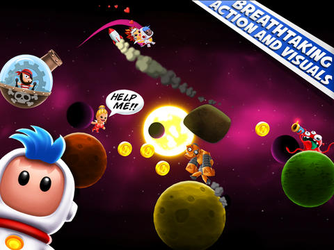Space Chicks has gone free-to-play just 3 days after going live on the App Store
