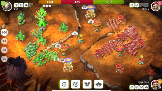Galcon-like Mushroom Wars 2 is out now on iOS