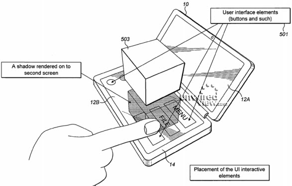 Nokia patent reveals holographic-like mobile interface - the Communicator 3D