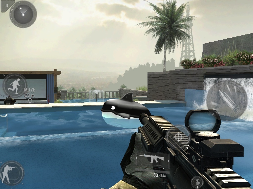 Modern Combat 3 for iOS updated with new multiplayer modes and maps