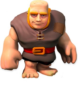 Giant - soldier stats and troop tactics in Clash of Clans