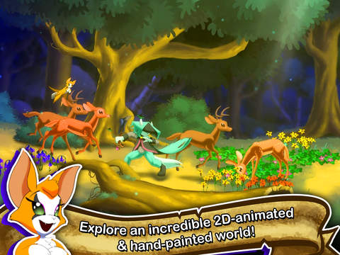 Hit PS4 Action RPG Dust: An Elysian Tail is out now on iPhone and iPad