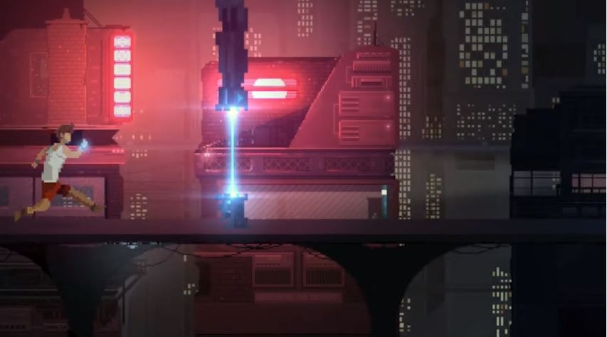 Retroshifter is a cyberpunk autorunner, aiming to hit iOS and Android later this month
