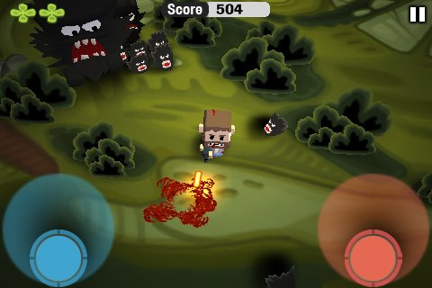 Free iPhone game: Minigore