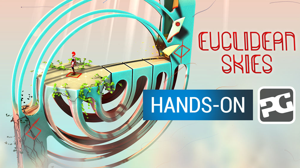 "Euclidean Skies video hands-on - ""A puzzler that actually works better in AR"""