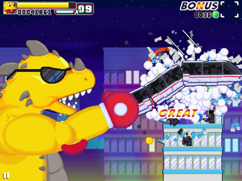 Roar Rampage will punch the crap out of iOS at midnight tonight