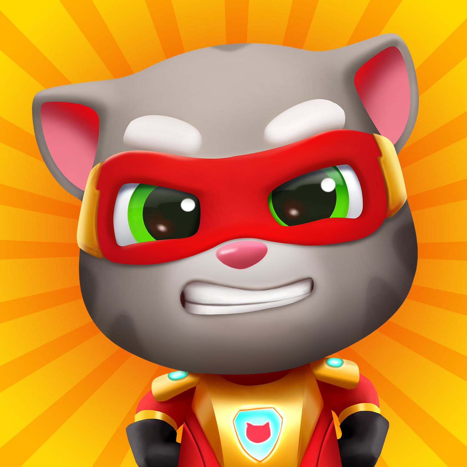 The wait is over! The superhero-themed endless runner Talking Tom Hero Dash has launched globally.