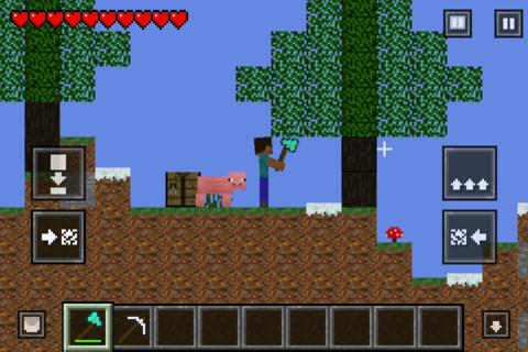 Minecraft clone Crafted slips past App Store approval team
