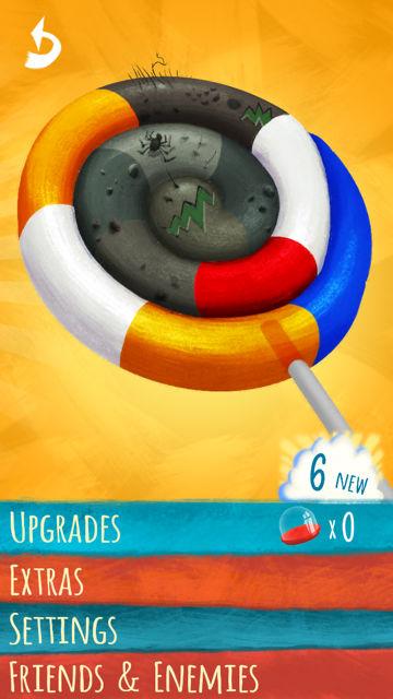 Lollipop 3: Eggs of Doom iPhone, screenshot 1