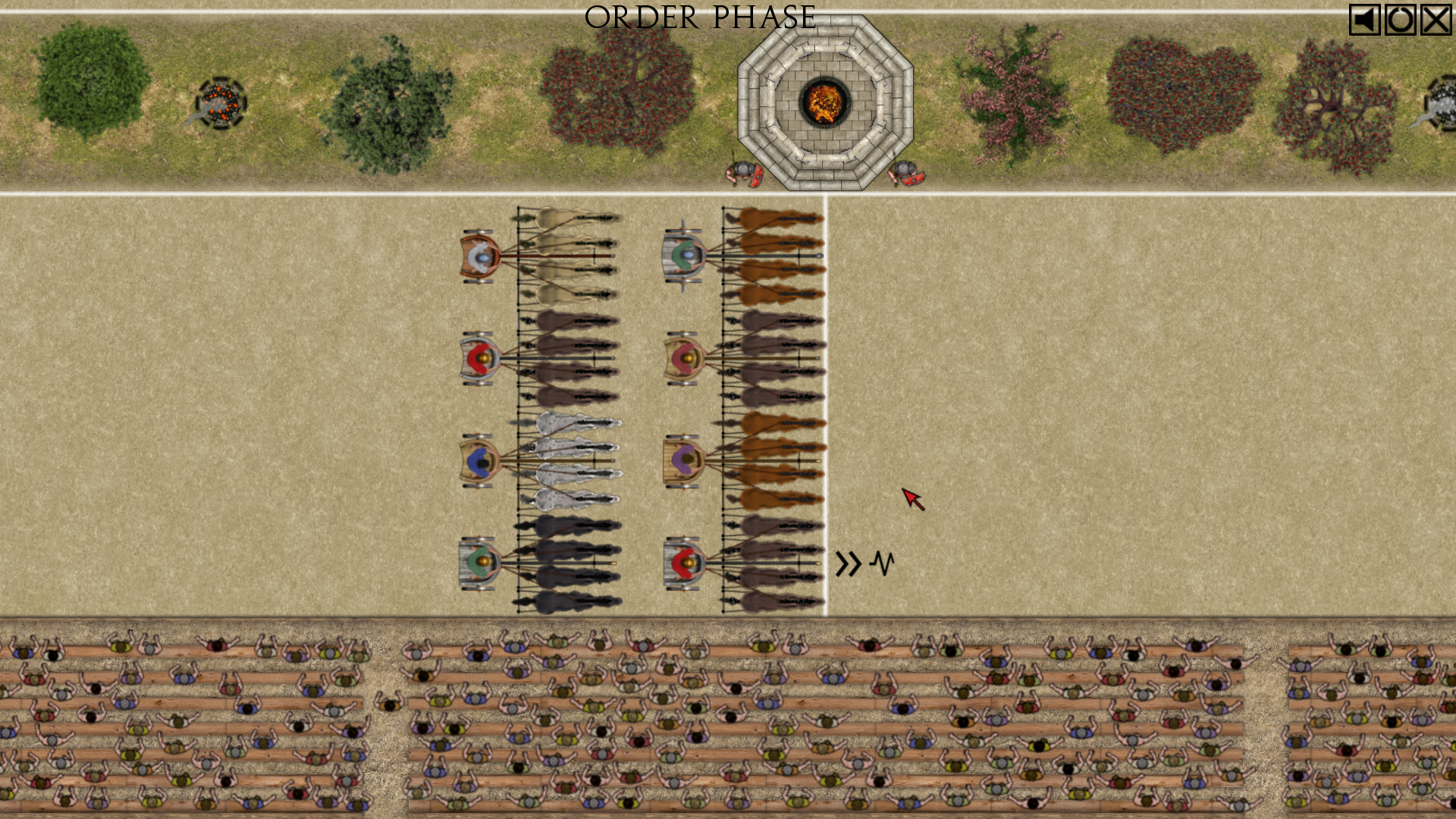 Brutal turn-based chariot racing game Qvadriga has galloped onto iPad and Android tablets