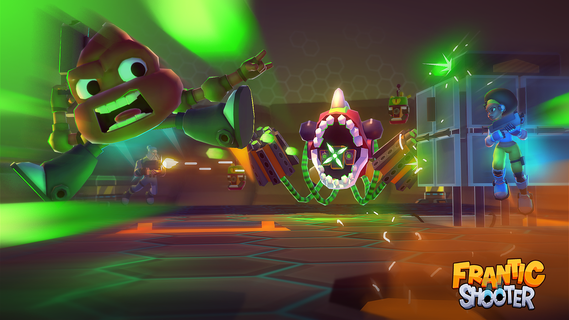 [Update] Frantic Shooter is exactly what its title suggests at an extremely fast pace, out now