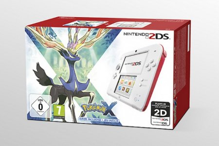 Pokemon X and Y 2DS bundle spotted on a Dutch retail site