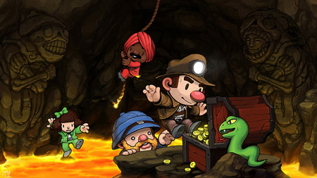 Spelunky for Vita reduced to half price in Sony's '12 Deals of Christmas' promotion