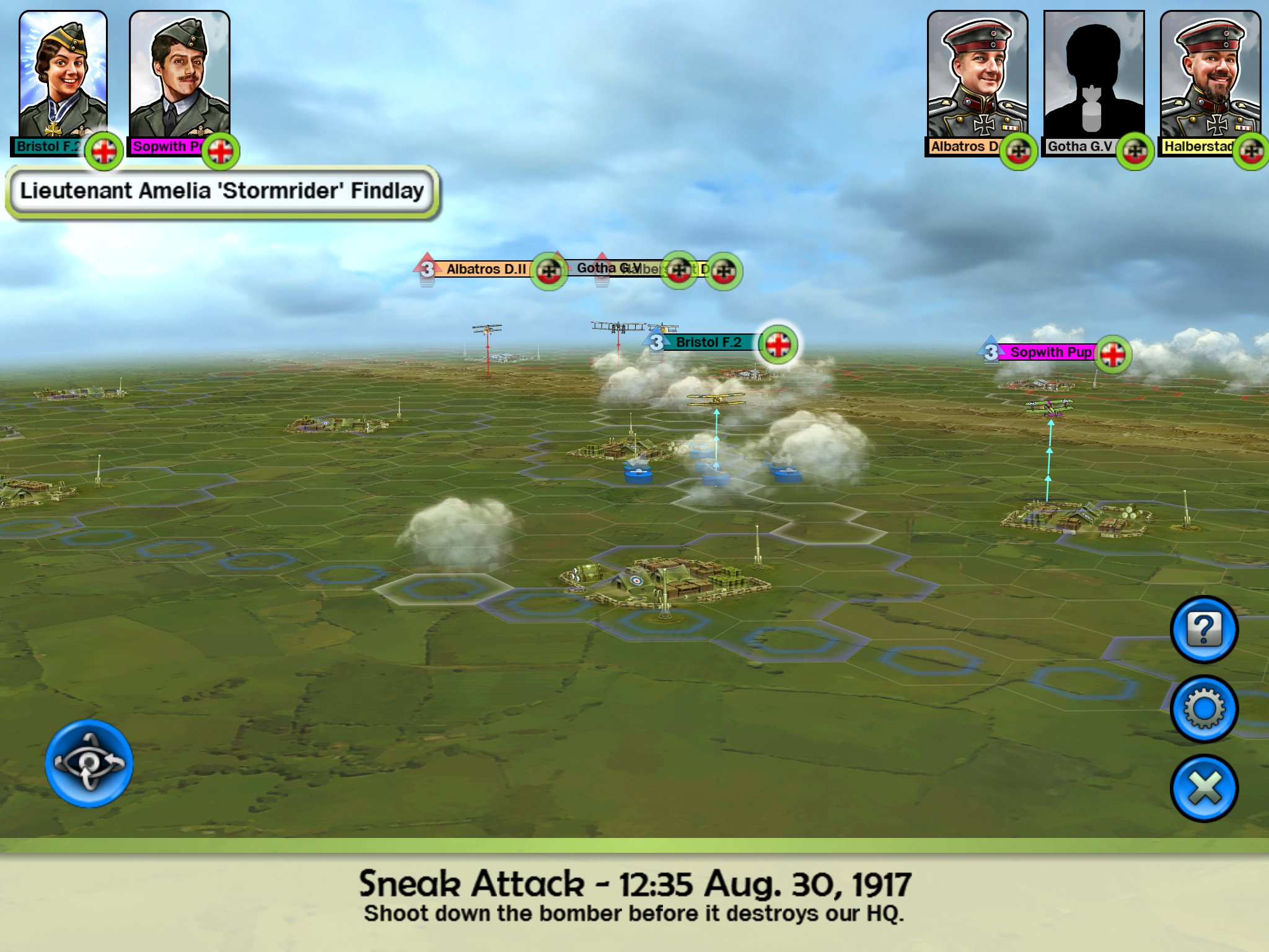 Sid Meier's Ace Patrol updated with Special Nation Abilities
