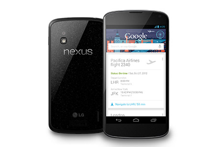 Google slashes the prices of its flagship Nexus 4 smartphone