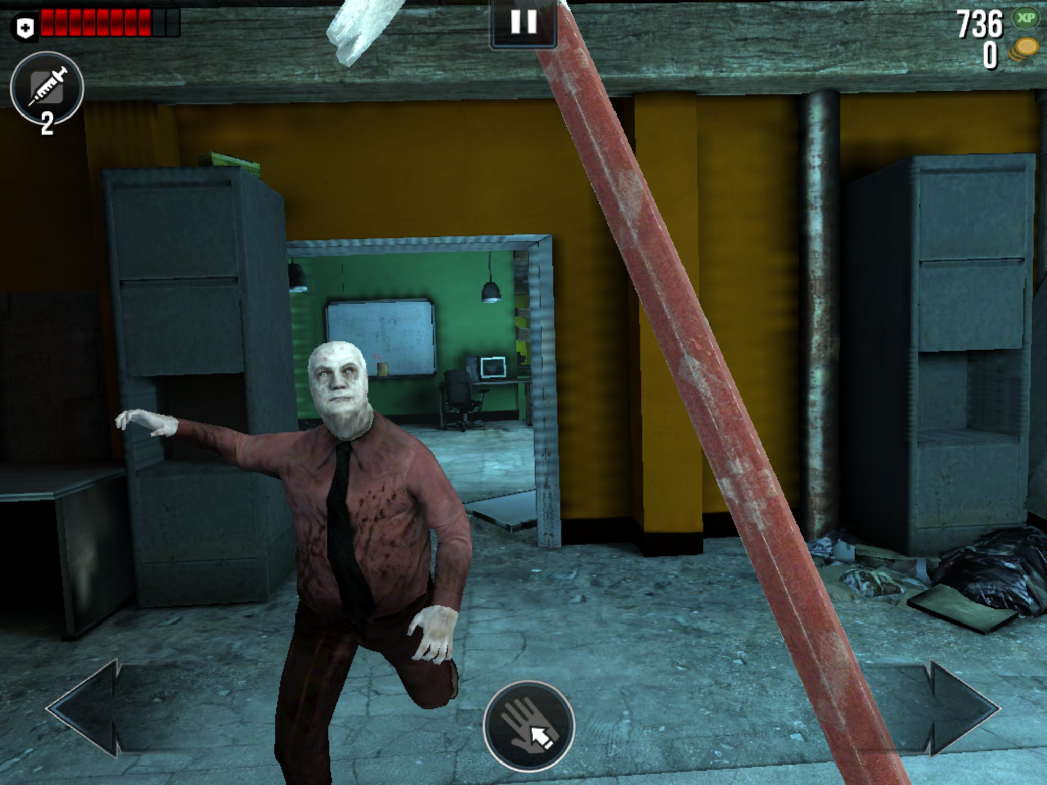 Phosphor Games slashes the price of its iOS and Android zombie-eviscerating movie tie-in World War Z