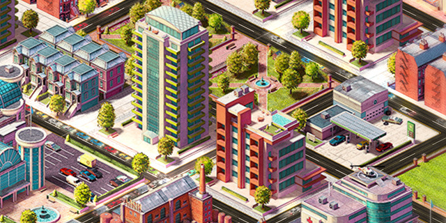 Concrete Jungle crams intense city planning into a deck of virtual cards, on Kickstarter now