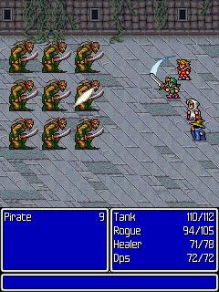 FinalFantasy_screenshot02_240x320 Final Fantasy I chega para os celulares comuns