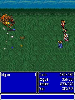 FinalFantasy_screenshot04_240x320 Final Fantasy I chega para os celulares comuns