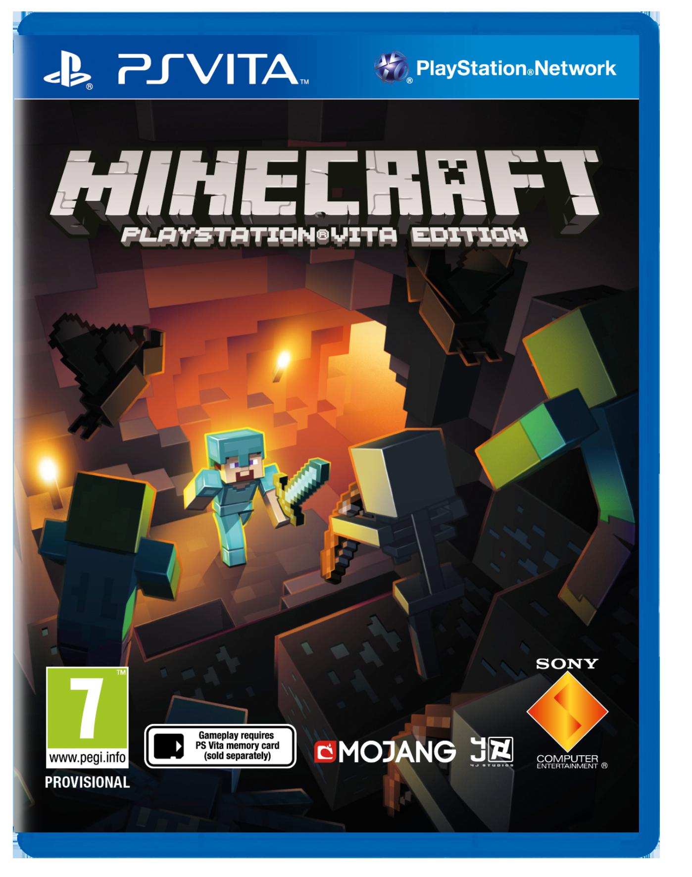 Minecraft ps vita release date