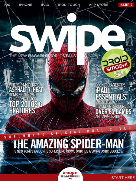 Grab your free sample of swipe issue 2 from Newsstand now
